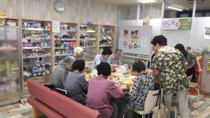 オリーブカフェ報告 折り紙教室